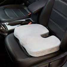 Memory Foam Chair Pad Ortho Buddy Seat Cushion Enhanced Dual Layer Gel High Density