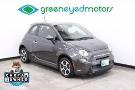 2013 fiat 500e battery electric green eyed motors