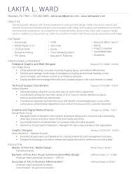 Sample Resume Objectives For Job Fair by Updated Art Resume Examples Sample Resume Letter Artist Resume