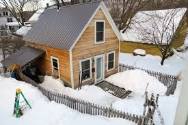 building a home in vermont building a rental guest tiny house in vermont that is green