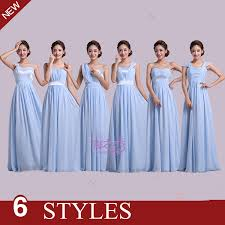 wedding dress murah 2017 cheap and chiffon blush pink bridesmaid dresses
