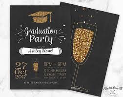 graduation party invitations graduation invitation etsy
