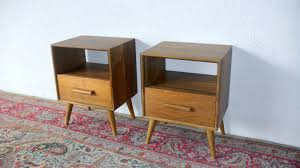 bedroom mid century modern bedside tables with 1 drawers on feizy
