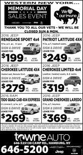 dodge ram memorial day sale memorial day sales event towne chrysler dodge jeep ram hamburg ny