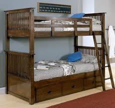 Great Bunk Bed With Storage Beds For Kids Types Bunk Loft Trundle - Oak bunk beds for kids