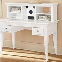 furniture white glass desk with hanging lacquered drawers cool