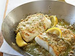 roast cod with garlic butter recipe myrecipes