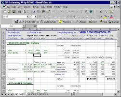 Excavation Estimating by Construction Estimating Software Program For General Contractors