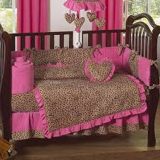 find unique cheetah bedding sets for your kids all modern home image of cheetah print crib bedding