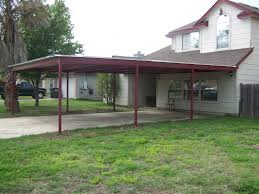 Attached Carport Plans Custom Metal Carport And Porch Addition South San Antonio