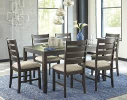 7 pc dining room sets brown 7 piece dining room set