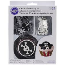 Wilton Cupcake Decorating Wilton Cupcake Decorating Kit Makes 24 Pirate Other