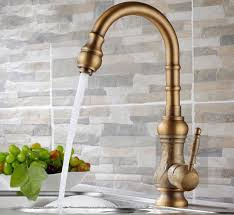 Antique Kitchen Sink Faucets Antique Brass Kitchen Faucet How To Use Kitchen Design Ideas