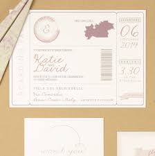 fly away u0027 boarding pass wedding invitation by eighth autumn