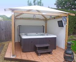 Easy Diy Garden Gazebo by 31 Best Tub Privacy Spa Enclosures Images On Pinterest