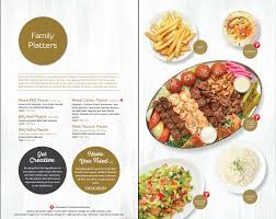 menu paramount fine foods