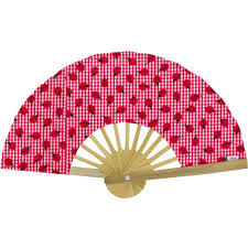 held fan held fan ladybird gingham cheap ppmc