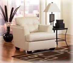 Ashley Furniture Armchair Ashley Furniture Signature Design Durablend Ivory Chair Living