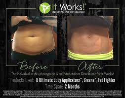 what are wraps it works wraps before after photos