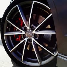 audi titanium wheels vwvortex com 19 5 v spoke titanium wheels with michelin tires