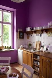 cuisine pourpre peinture cuisine et combinaisons de couleurs en 57 idées