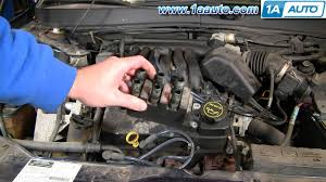 how to install replace engine ignition coil ford taurus mercury