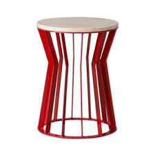 buy red metal stools from bed bath u0026 beyond