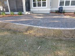 Raised Paver Patio Raised Paver Patio Delimma