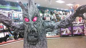 spirit halloween charlotte nc halloween express haunted tree 2014 youtube