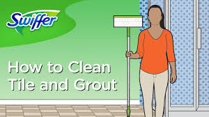 how to clean grout and bathroom tiles with swiffer swiffer