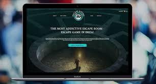 trackstar web design case study escape rooms ibiza