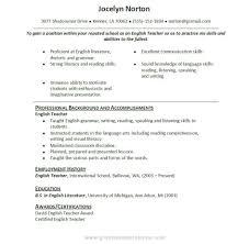 Samples Of Cv Resume Format English Resume Cv Cover Letter