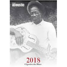 Kalendar 2018 Nederland Ppv Medien Acoustic Blues Kalender 2018 Thomann Nederland