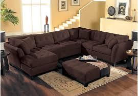 Chocolate Living Room Set Home Metropolis Chocolate 4 Pc Sectional Living