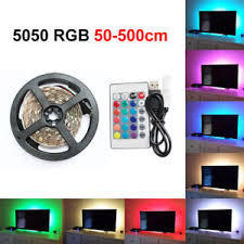 color changing led strip lights with remote 50 500cm usb led strip lights tv back light rgb colour changing