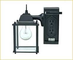 Lowes Outdoor Wall Lights Porch Light With Outlet Outdoor Light With Outlet A Beautiful