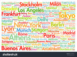 Washington world travel images Cities world travel destinations word cloud stock vector 616578977 jpg