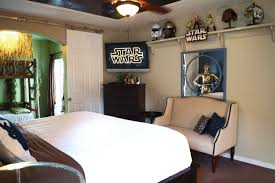 star wars u201d king master ewok bedroom u0026 baby crib family suite