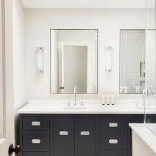 Bathroom With Mirror The Most Metal Frame Pharmacy Mirror With Shelf Foyer Pinterest