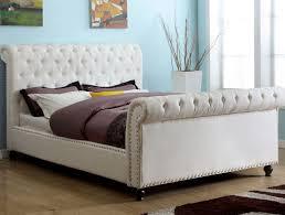 upholstered bed frames caravana furniture