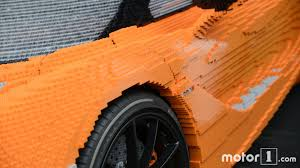 lego mclaren watch mclaren build the life size lego 720s in a single minute