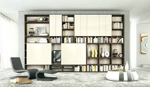 bookcase contemporary bookcase with doors bookcases contemporary