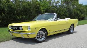 1965 yellow mustang 1965 ford mustang convertible f157 1 dallas 2015