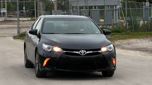 Camry Engine Specs 2016 Toyota Camry 2 5l Se 178 Hp Test Drive Youtube