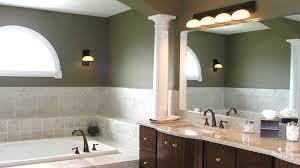designing a master bathroom natural stone concrete bathtub wall