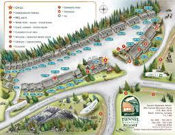 Banff National Park Map Tunnel Mountain Resort Official Website