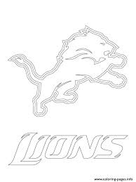 oakland raiders coloring pages detroit lions logo football sport coloring pages printable