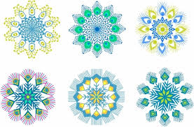 peacock feather ornament free vector in adobe illustrator ai ai