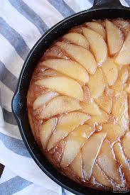 sweet lavender bake shoppe pear upside down cake our last cooks