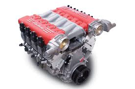 ferrari engine new edelbrock cross ram gen iv intake makes your engine look like